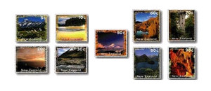 1996 Scenic Definitives - New Zealand Scenery