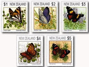 Butterflies 1991 Definitives