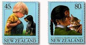 1993 Children's Health Stamp