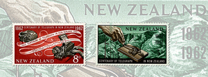 Centenary of Telegraph in New Zealand