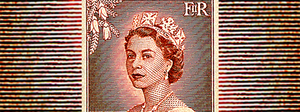 1955 Queen Elizabeth II (redrawn design)