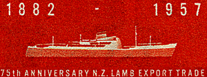 75th Anniversary of New Zealand Meat Export Trade