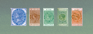 Queen Victoria Postal Fiscals