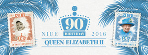 Niue - 90th Birthday of Queen Elizabeth II