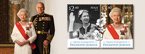 Niue Queen Elizabeth II Diamond Jubilee