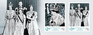 Niue Queen Elizabeth II - 60th Anniversary of the Coronation