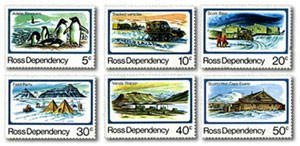 1982 Ross Dependency - Pictorials