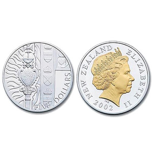 2002 Queen Elizabeth II - Golden Jubilee Silver Proof Coin