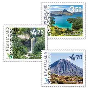 2020 Scenic Definitives Set of Mint Stamps