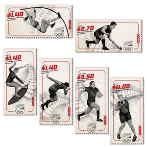 Tokyo 2020 Olympic Games Set of Cancelled Stamps