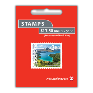 2020 Scenic Definitives $3.50 Self-adhesive Booklet