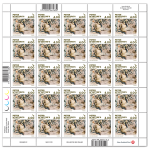 2020 Peter McIntyre's World War Two $4.00 Stamp Sheet