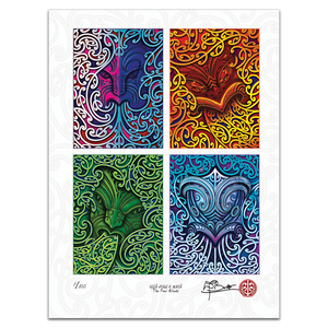 2020 Nga Hau e Wha - The Four Winds Limited Edition Print