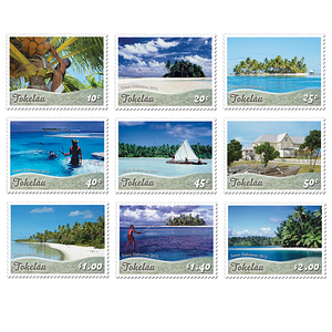 Tokelau Scenic Definitives 2012 Set of Mint Stamps