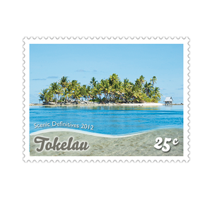 Tokelau Scenic Definitives 2012 25c Stamp