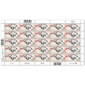 Tokyo 2020 Olympic Games $1.40 Pole Vault Stamp Sheet