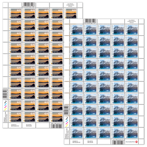 2020 Scenic Definitives Set of Stamp Sheets