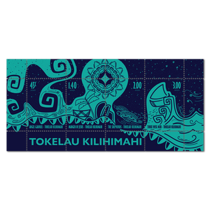 2020 Tokelau Kilihimahi Used Miniature Sheet