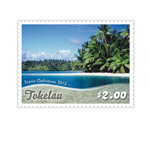 Tokelau Scenic Definitives 2012 $2.00 Stamp