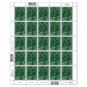 2020 Nga Hau e Wha - The Four Winds $3.30 Stamp Sheet