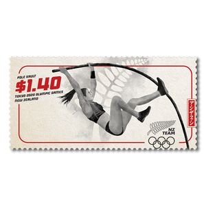 Tokyo 2020 Olympic Games $1.40 Pole Vault Stamp