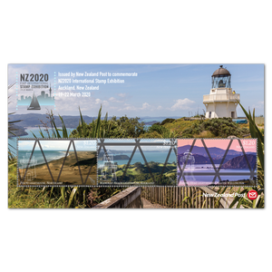 NZ2020 International Stamp Exhibition Lighthouse Miniature Sheet