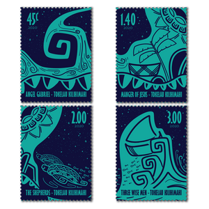 2020 Tokelau Kilihimahi Set of Cancelled Stamps
