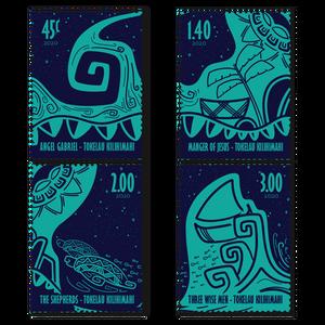 2020 Tokelau Kilihimahi Set of Cancelled Stamps