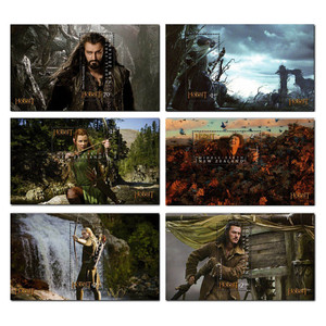 The Hobbit: The Desolation of Smaug Set of Mint Miniature Sheets