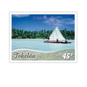 Tokelau Scenic Definitives 2012 45c Stamp