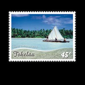 Tokelau Scenic Definitives 2012 45c Stamp