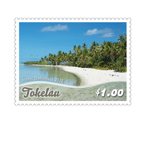 Tokelau Scenic Definitives 2012 $1.00 Stamp