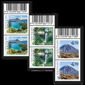 2020 Scenic Definitives Set of Barcode B Blocks