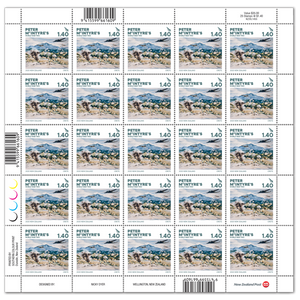 2020 Peter McIntyre's World War Two $1.40 Stamp Sheet
