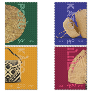 Niue Weaving 2020 Set of Used Stamps