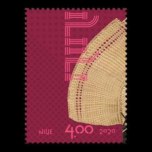 Niue Weaving 2020 $4.00 Stamp