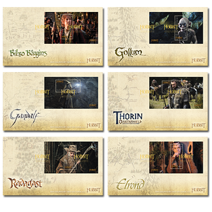 The Hobbit: An Unexpected Journey Set of Miniature Sheet First Day Covers