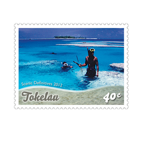 Tokelau Scenic Definitives 2012 40c Stamp