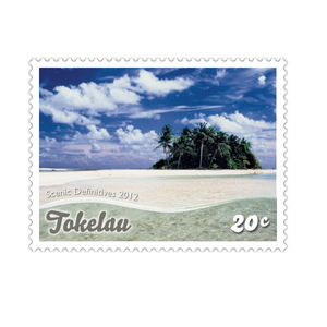 Tokelau Scenic Definitives 2012 20c Stamp