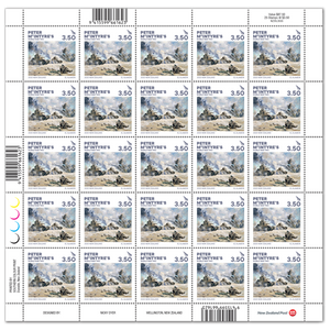 2020 Peter McIntyre's World War Two $3.50 Stamp Sheet