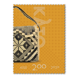 Niue Weaving 2020 $2.00 Stamp