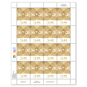 Tokelau Weaving 2020 $1.40 Stamp Sheet