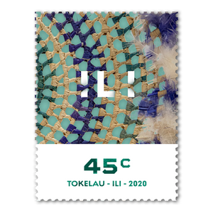 Tokelau Weaving 2020 45c Stamp