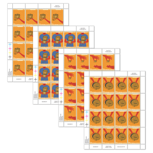 Tokelau Christmas 2019 Set of Stamp Sheets