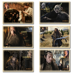 The Hobbit: An Unexpected Journey Set of Maximum Cards