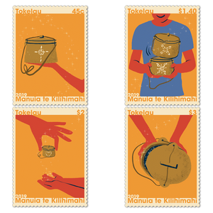 Tokelau Christmas 2019 Set of Cancelled Stamps