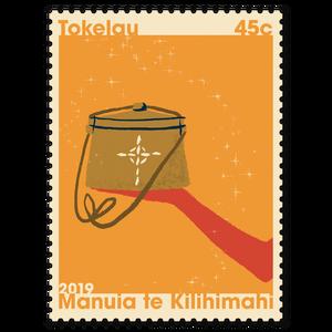 Tokelau Christmas 2019 45c Stamp
