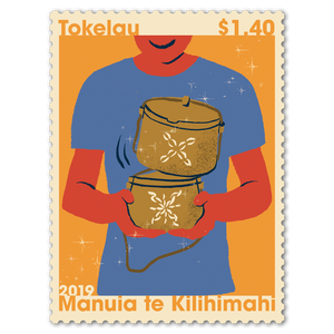 Tokelau Christmas 2019 $1.40 Stamp