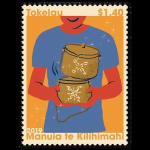 Tokelau Christmas 2019 $1.40 Stamp