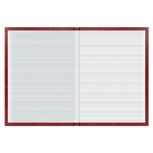 Lighthouse Stockbook with 32 White Pages, 64 Sides